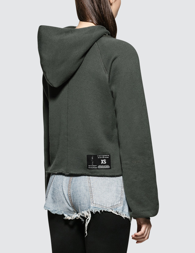 Unravel Project Cot Cashmere Hoodie Cut
