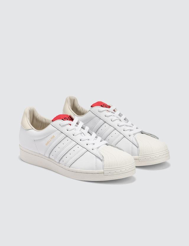 Adidas Originals 424 x Adidas Consortium Shelltoe White Men