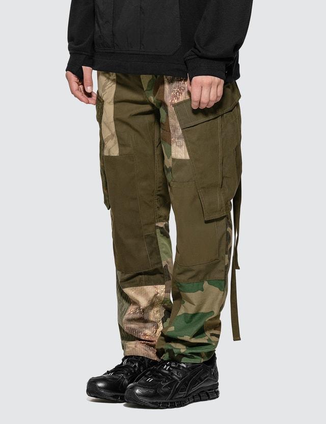 Maharishi Upcycled Patchwork Cargo Pants