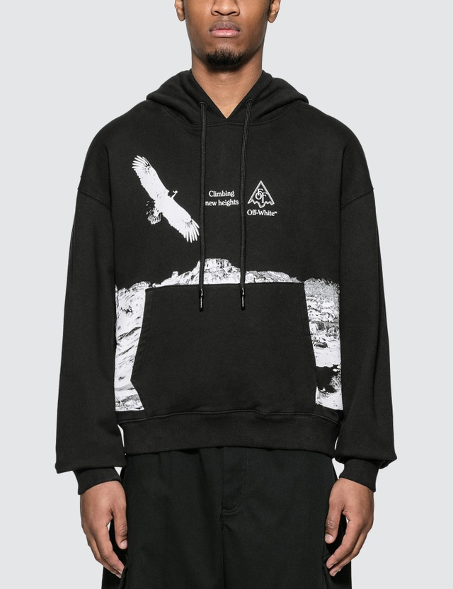 Off-White Eagle Landscape Over Hoodie