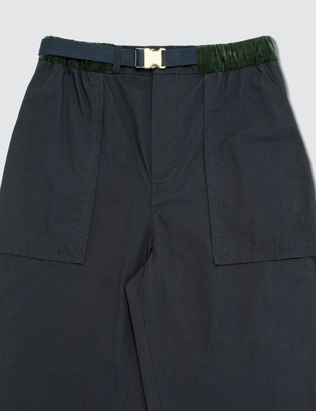 Sacai Fatigue Cropped Pants