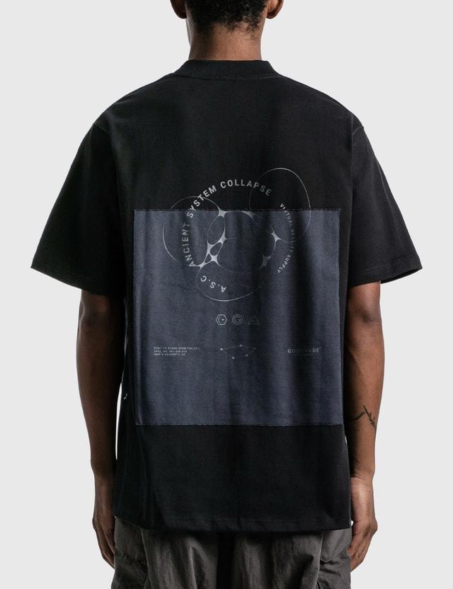"GOOPiMADE ""ASC-03"" Cytokine Patch T-shirt Black Men"