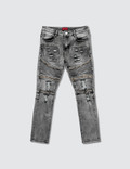 Haus of JR Ragazzi Zipper Biker Denim Jeans Picture