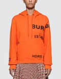 Burberry Horseferry Print Cotton Oversized Hoodie Picture