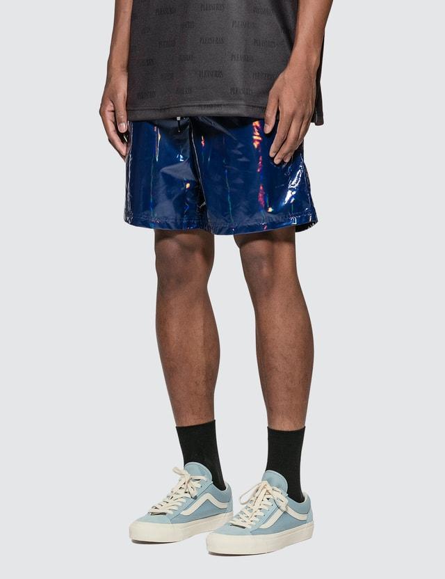 Pleasures Liquid Metallic Shorts
