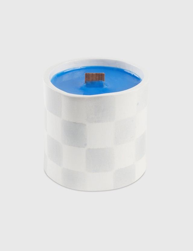 Crosby Studios Blue Candle Collection Ceramic Small Grey Unisex