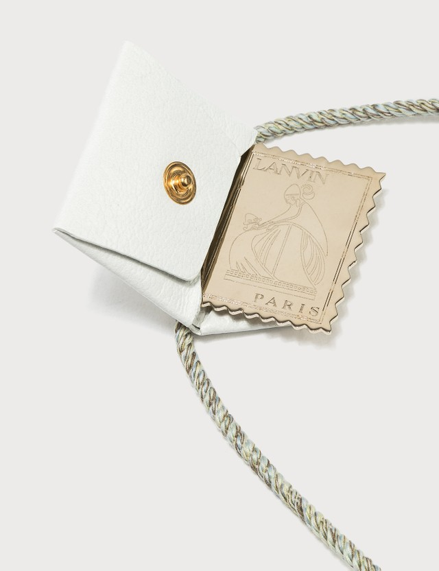 Lanvin Envelope Necklace White Women