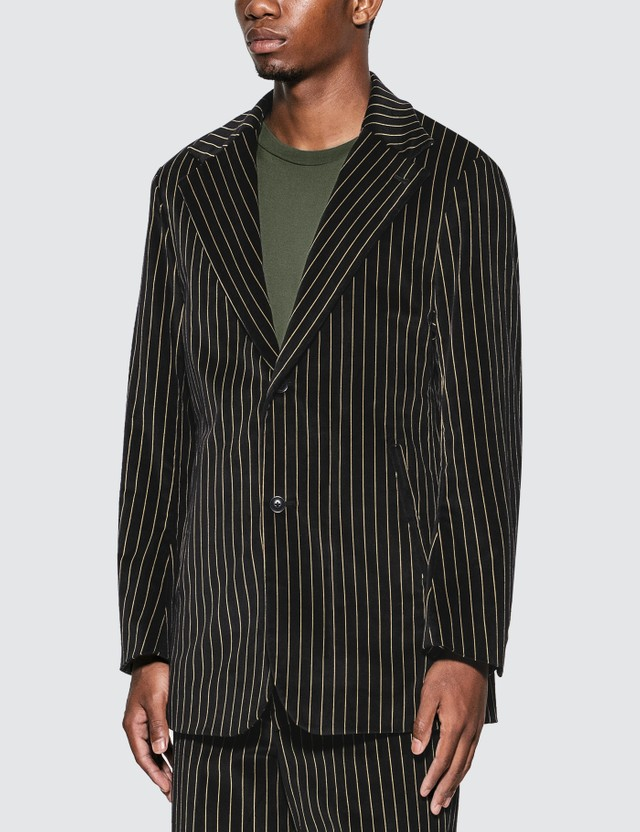 Needles Stripe Velveteen 2B Jacket =e25 Men