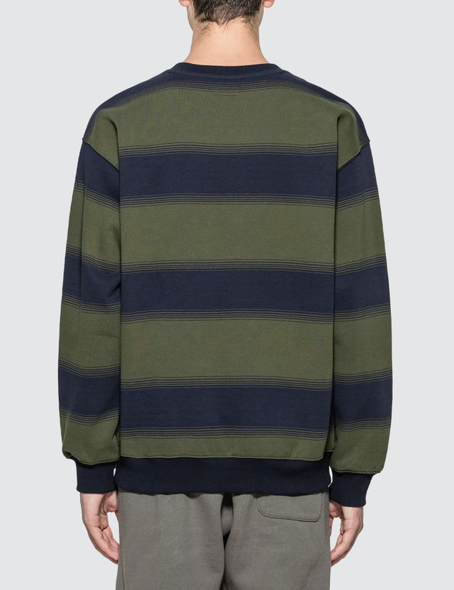 Thisisneverthat INTL. Striped Crewneck Sweatshirt