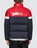 Moncler Color Block Down Jacket