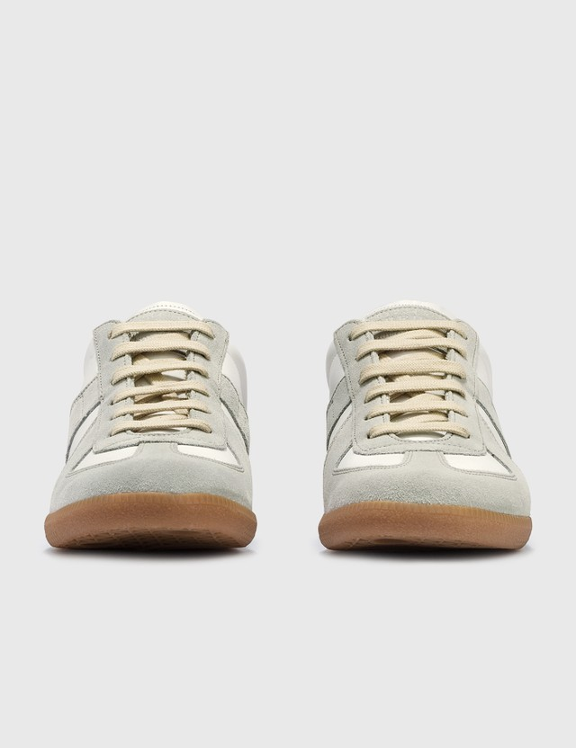 Maison Margiela Replica Low Top Sneakers Off White Men