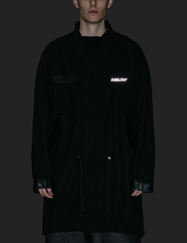 Ambush Hooded Cotton Fishtail Parka Coat =e46 Men
