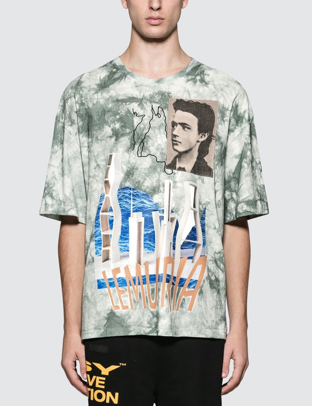 Perks and Mini Future Plans Oversized T-Shirt Tie Dye Blue Men