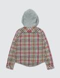 Number Nine Hooded Flannel