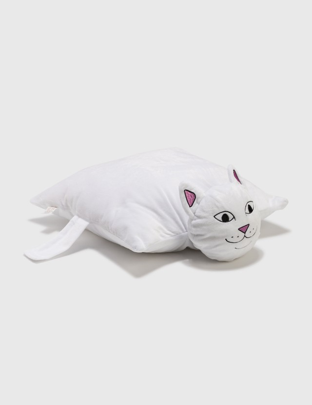 RIPNDIP Lord Nermal Pillow Pet White Unisex