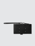 Maison Margiela Zip Leather Card Holder Picture