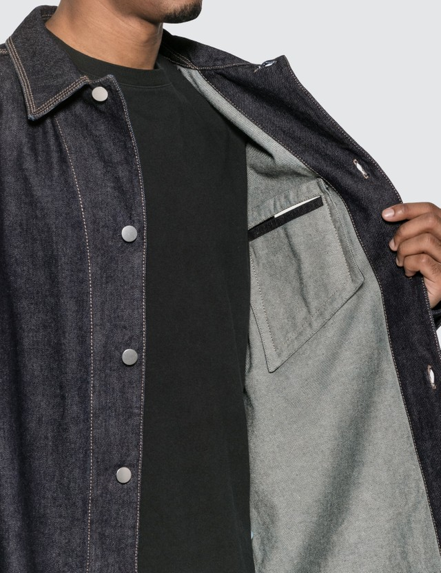 Bottega Veneta Oversized Denim Shirt