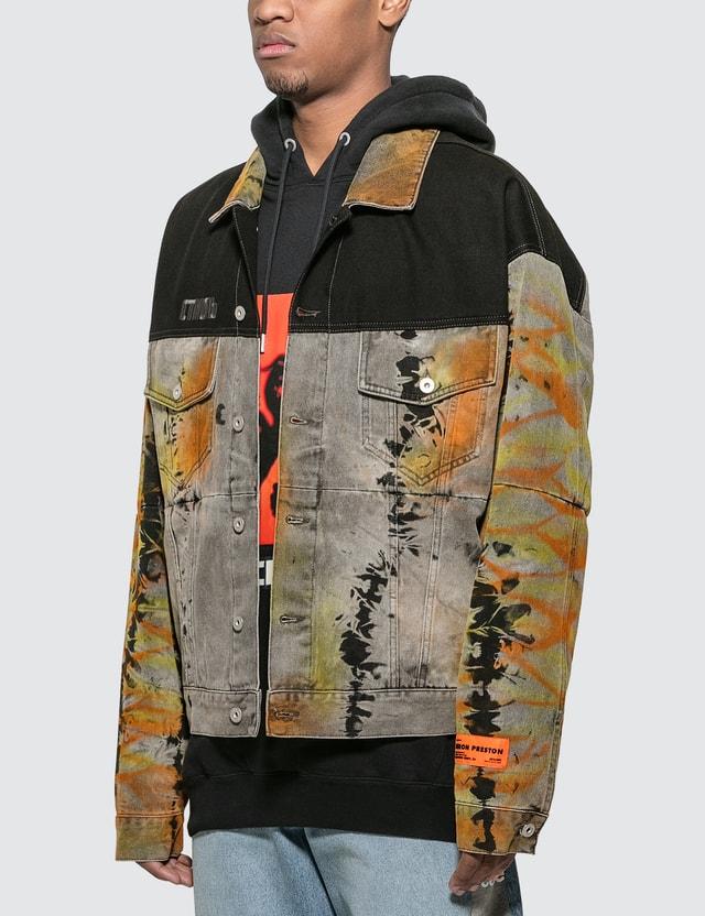Heron Preston Tye Dyed Over Jacket
