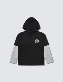 Versace Hooded L/S T-Shirt With Medusa Logo (Kid)