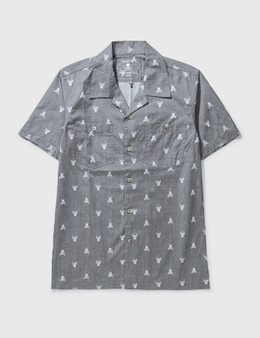Mastermind Japan Mastermind Japan Big Skull Print Short Shirt