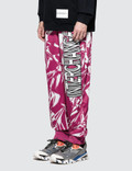 CALVIN KLEIN JEANS EST.1978 Interchange Print Pants Fuchsia / Multi Men