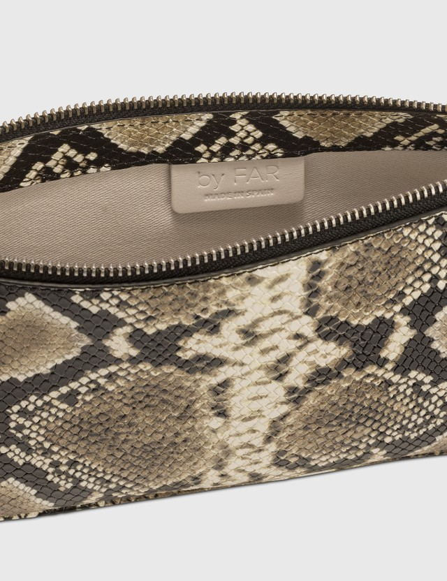 BY FAR Rachel Snake Print Leather Bag Snake Print Women