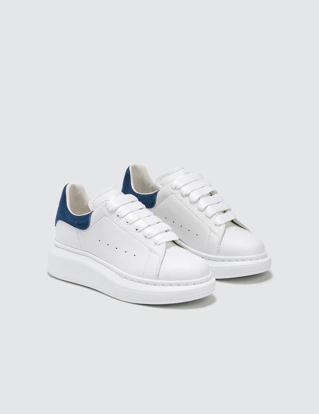 Alexander McQueen Oversized Sneaker White/blue Kids
