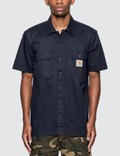 Carhartt Work In Progress Master Short Sleeve Shirt Picutre