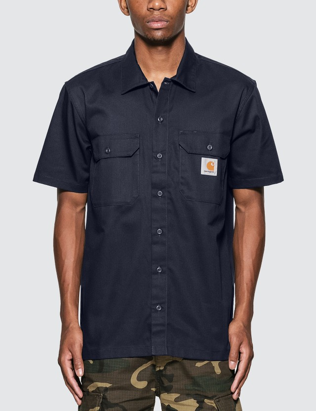 Carhartt Work In Progress Master Short Sleeve Shirt