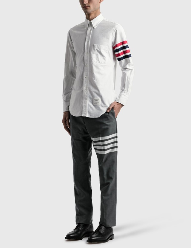 Thom Browne Classic Fit Shirt White Men