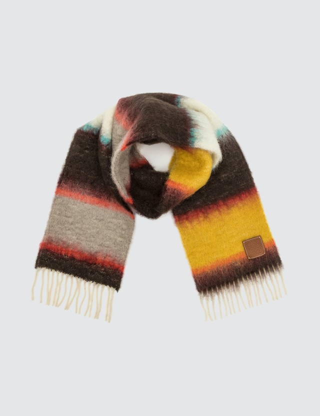 Loewe Mohair Scarf Stripes