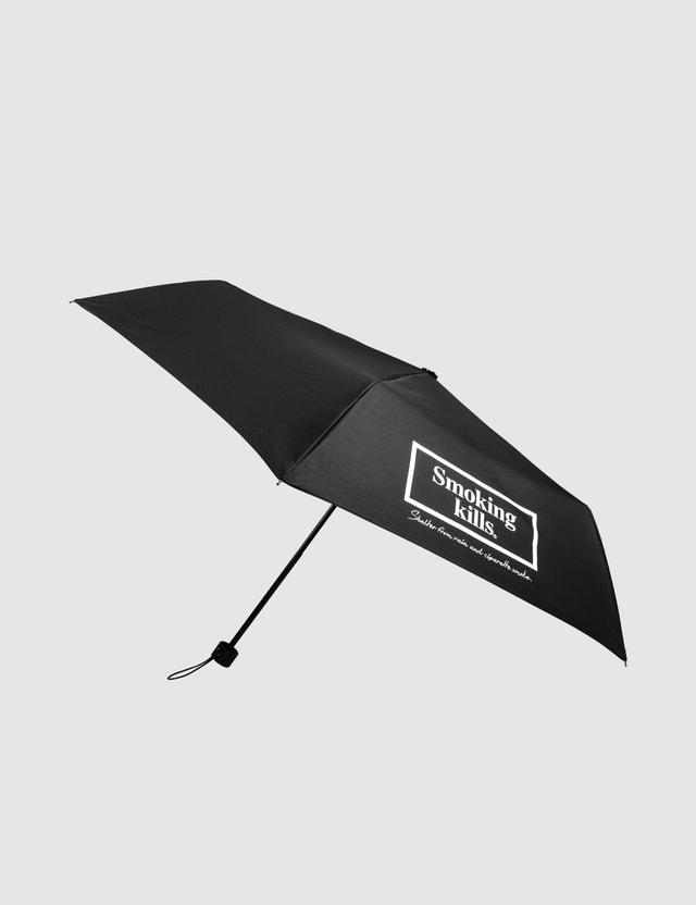 """#FR2 """"Smoking Kills"""" Folding Umbrella"""