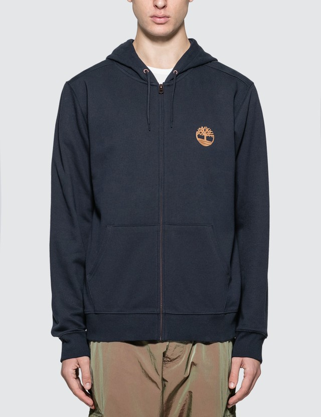 Timberland Core Tree Logo Zip Up Hoodie