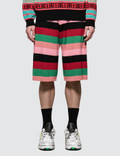 Loewe Stripe Knit Shorts Picture