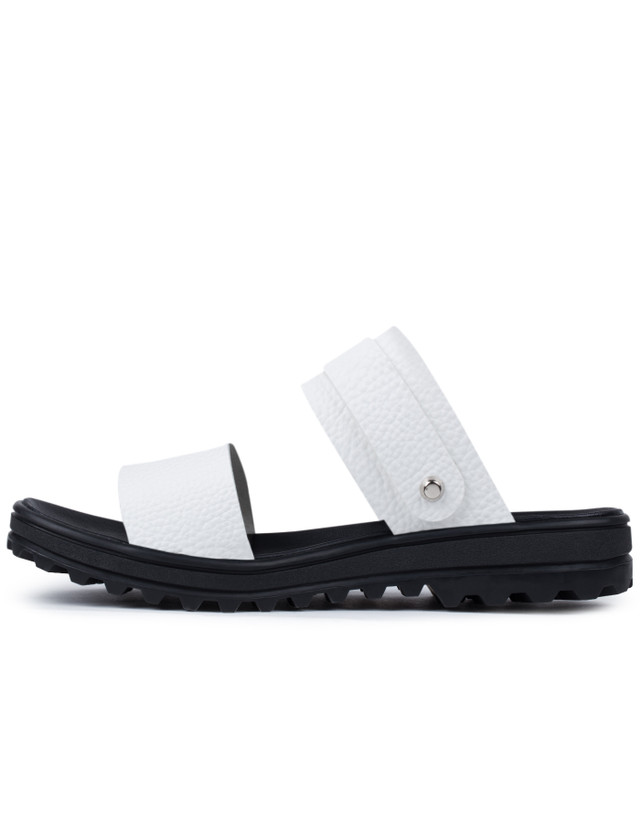VALLIS BY FACTOTUM Two Way Sandals With Vibram Sole