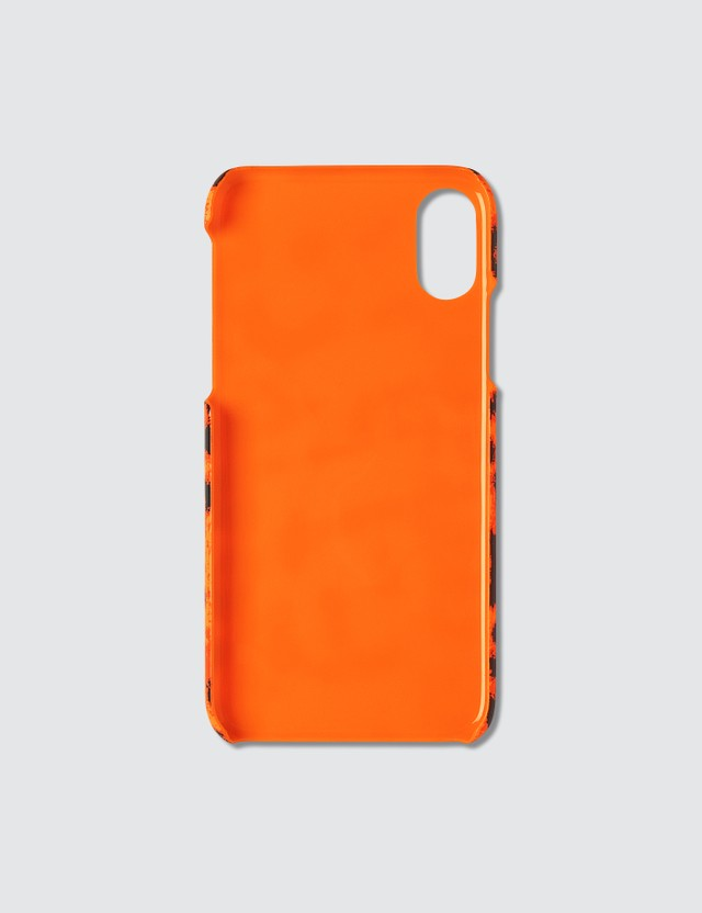 F.C. Real Bristol Leopard Print iPhone X/Xs Case Orange Men