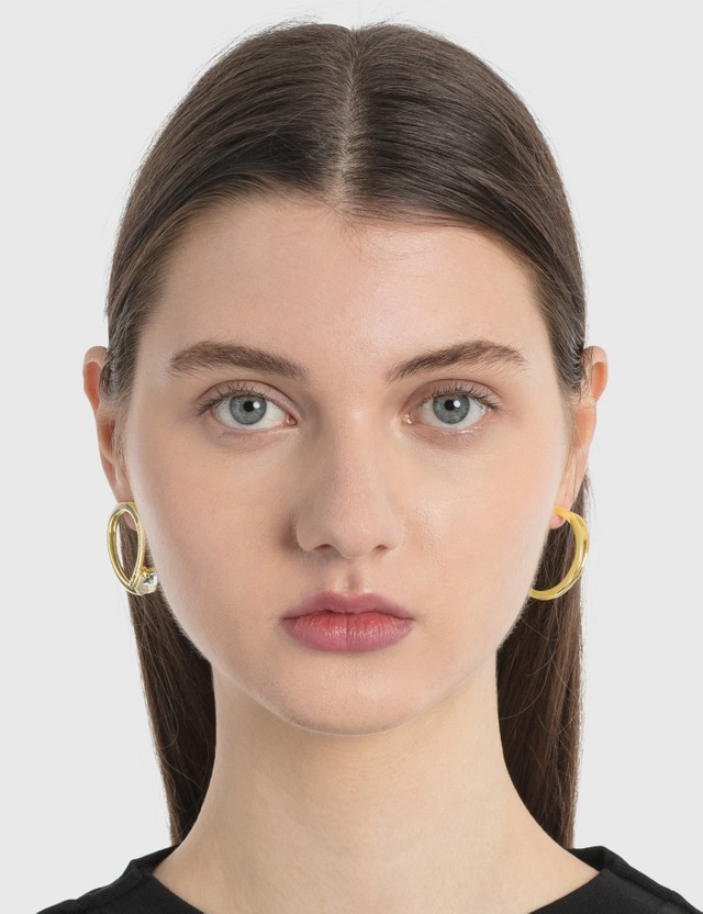MM6 Maison Margiela Hoop Earrings