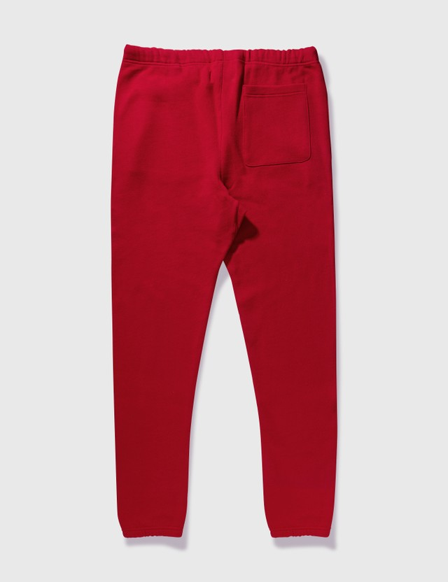 Fear of God Essentials Fear Of God Essentials Sweatpants Red Archives
