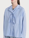 Loewe Stripe Pyjama Blouse White/blue Women
