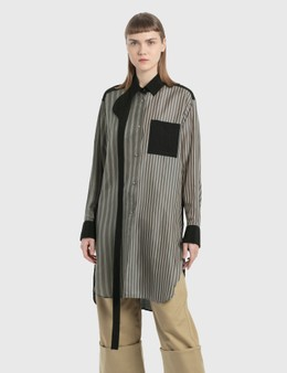 Loewe Striped Patchwork Blouse