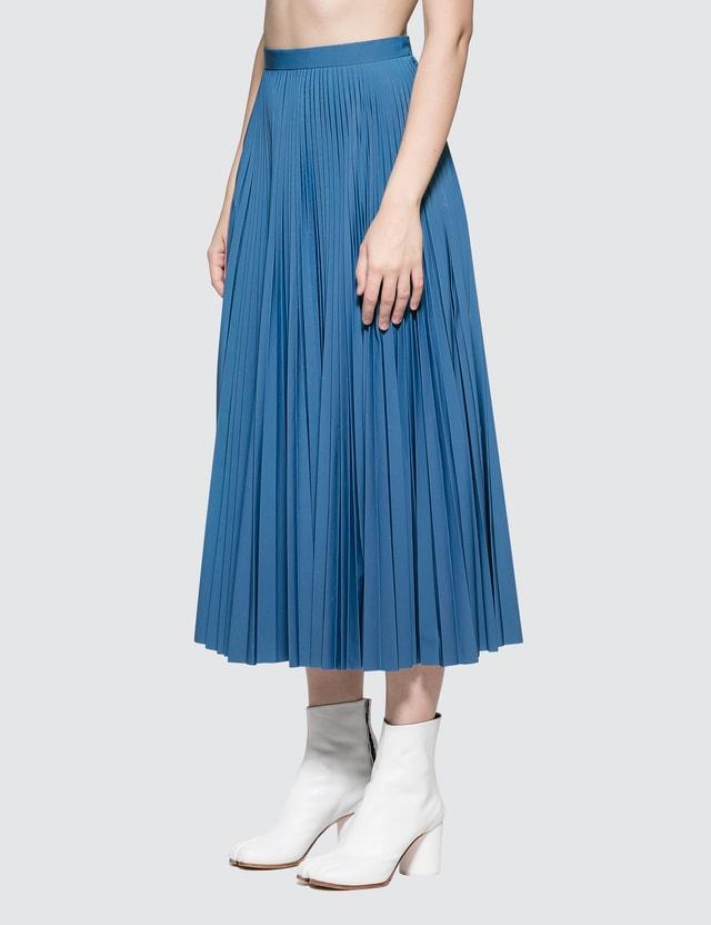 4f2bf554fc Maison Margiela - Reflective Pleated Skirt   HBX