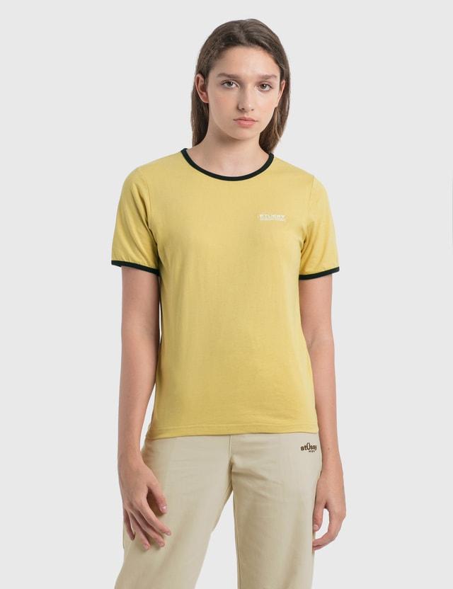Stussy 컨트랙트 바인딩 티셔츠 Sand Women