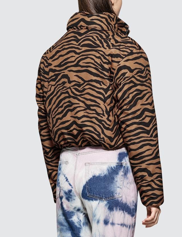 Ashley Williams Tiger Puffer Jacket