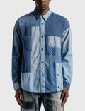 FDMTL 3 Years Wash Boro Patchwork Shirt Picture