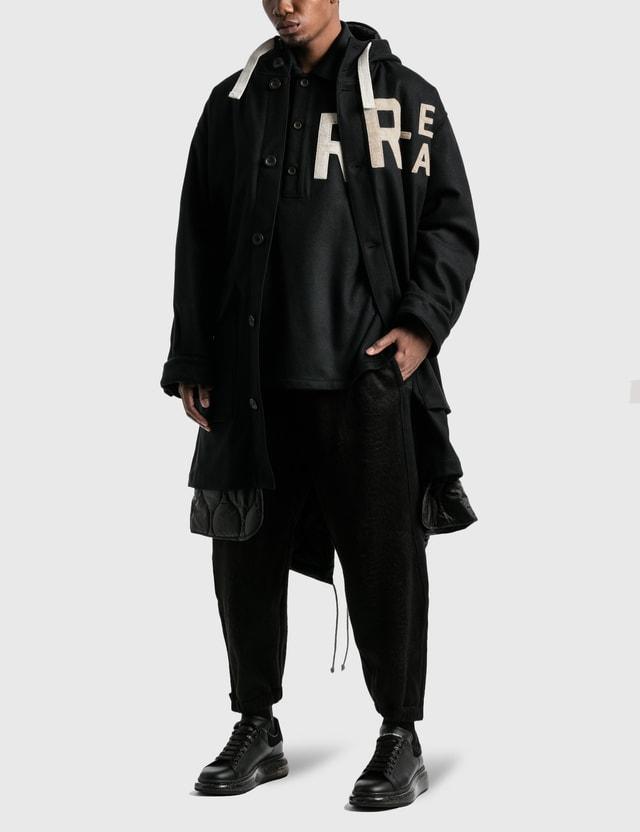 Emporio Armani R-EA Show 파카 Black Men