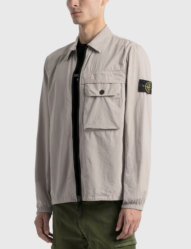 Stone Island Zip Overshirt Jacket