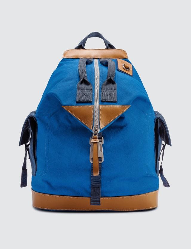 Loewe ELN Convertible Backpack Electric Blue/navy Blue Men