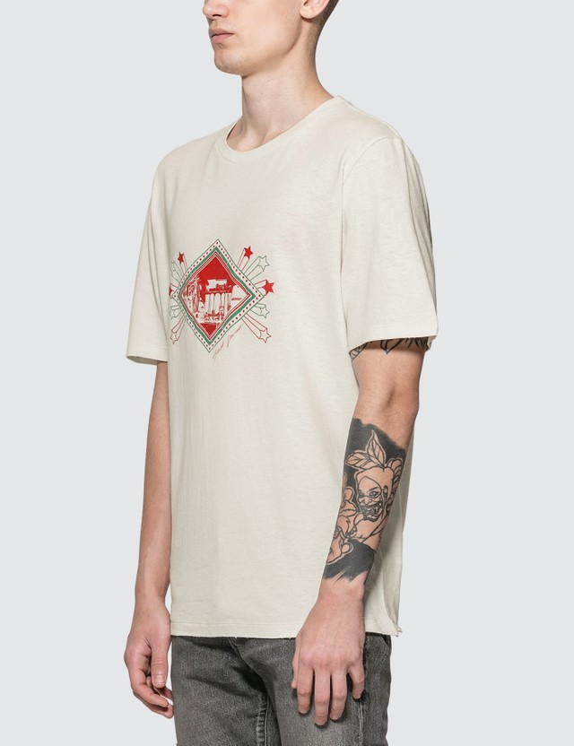 Saint Laurent Jardin Majorelle T-shirt White Men