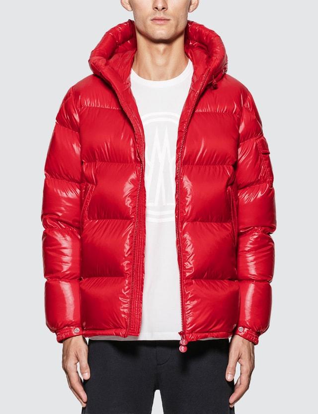 Moncler Ecrins Down Jacket Red Men