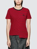 Loewe Asymmetric Stripe T-shirt Picutre